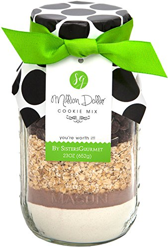 Sisters' Gourmet Million Dollar Cookie Mix, 23 Ounce