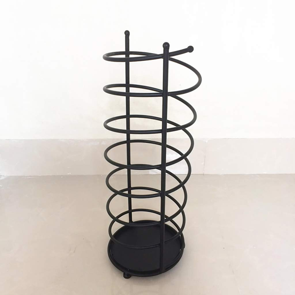 Umbrella Rack Iron Style European Home Creative Umbrella Rack Umbrella Barrel Storage Barrel Umbrella Hotel Lobby Umbrella Stands (Size : 20cm61cm) by LHsan (Image #3)