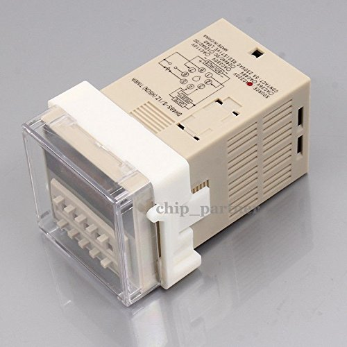 220v DH48S-S Programmable dual control time delay relay