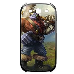 Sion-005 League of Legends LoL case cover Iphone 4/4S Plastic Black