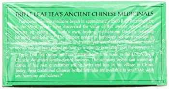 Triple Leaf Tea, Ultra Slim, 20 Tea Bags (Pack Of 6) 6