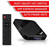 #10: TaNix Android TV Box, 2018 Newest TX3 MAX Android 7.1.2 4K 3D H.265 TV Box with Amlogic Quad-Core S905W 64 Bits CPU/2GB RAM 16GB ROM/BT 4.0