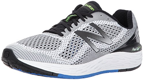 New Balance Men Fresh Foam Vongo V3 Running Shoes White (White/Vivid Cobalt)