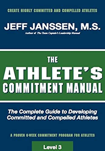 the athlete s commitment manual jeff janssen 9781892882257 amazon rh amazon com Types of Controls Risk Control Examples