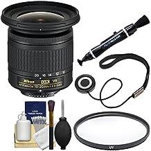 Nikon 10-20mm f/4.5-5.6G DX AF-P VR Zoom-Nikkor Lens with UV Filter + Kit