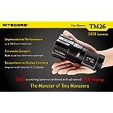 Nitecore TM26 Tiny Monster QuadRay XM-L2 mit 4000 Lumen neue Version 2015