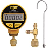 CPS-AO-42500-08 Products VG200 Portable Digital Vacuum Gauge, LCD, Atmospheric to 0 microns