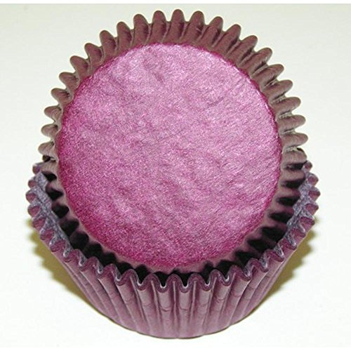 500pc Solid Burgundy Color Standard Size Cupcake Baking Cups Liners Wrappers