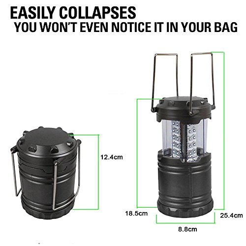 COB LED Lantern, Odoland 2 In 1 300 Lumen LED Camping Lantern Handheld Flashlights, Camping Gear Equipment for Outdoor Hiking, Camping Supplies, Emergencies, Hurricanes, Outages