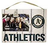 "KH Sports Fan 10""x8"" Oakland Athletics Clip It Weathered Logo Photo Frame, 10"" x 8"""
