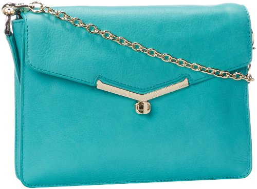 botkier Valentina 13S14253-H Cross Body,Sea Glass,One Size, Bags Central