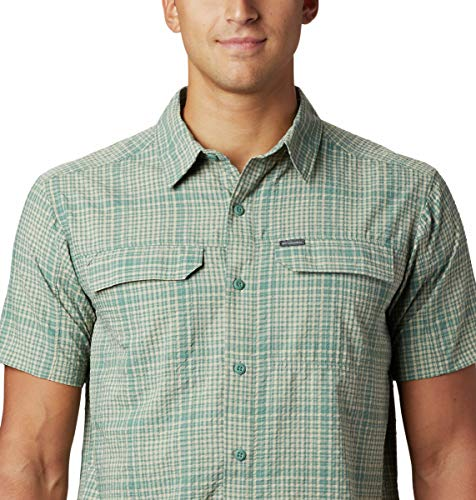 Columbia Men's Silver Ridge SS Seersucker Shirt