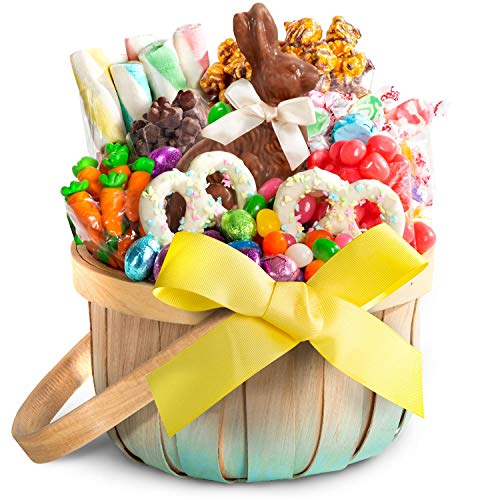 Golden State Fruit Easter Chocolate, Candy & Sweets Gift Basket