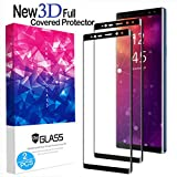 Samsung Galaxy Note 9 Screen Protector, (2-Pack) Tempered Glass Screen Protector [Force Resistant up to 11 pounds] [Full Screen Coverage] [Case Friendly] for Samsung Note 9 (Released in 2018)