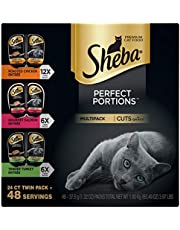 Sheba Perfect Portions Cuts in Gravy Wet Cat Food Tray Variety Packs