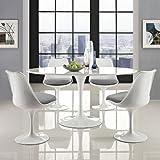 "Modway Lippa 60"" Mid-Century Modern Dining Table"