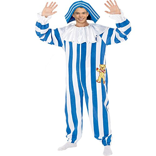 Andy Pandy Costume (Budgies Fancy Dress Andy Pandy Mens Licnsed Fancy Dress Costume Medium)