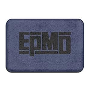 Epmd Hip Hop banda Logo antideslizante Felpudo 24* 16) color blanco
