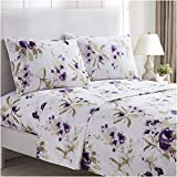 Mellanni Bed Sheet Set - Brushed Microfiber 1800