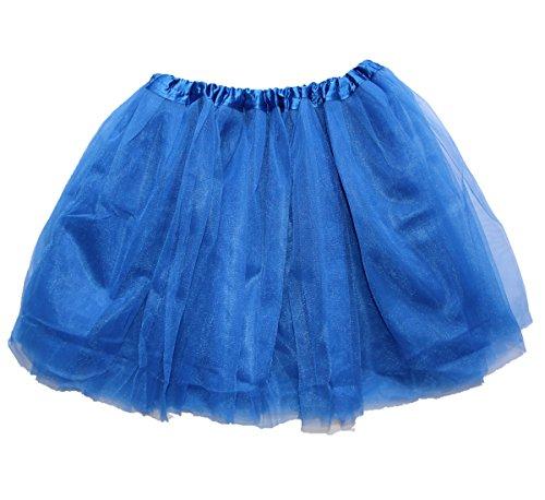Lovelyprincess Royal Blue Fluffy 4layers Women's Ballet Tutu Skirt Large (Tutu Skirts Adults)