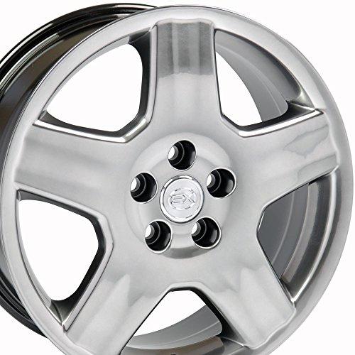 (18x7.5 Wheel Fits Lexus, Toyota - LS 430 Style Hyper Black Rim, Hollander)