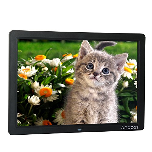 Andoer Digital Picture Frame (15inch/black) by Andoer
