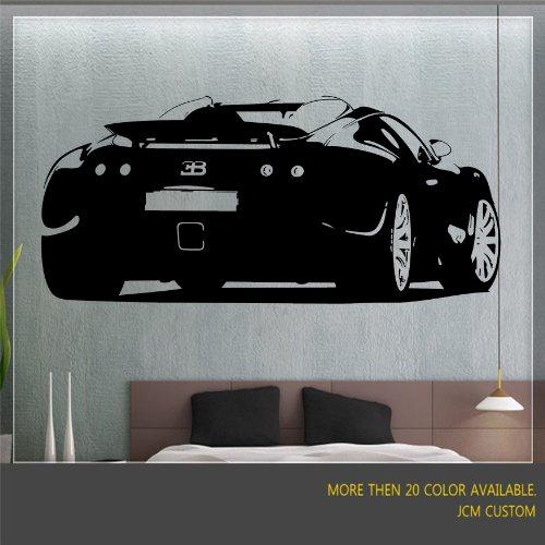 bugatti-veyron-wall-mural-art-vinyl-decal-48-x-217-choose-color