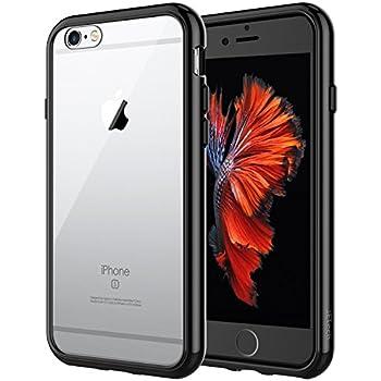 d935ff68ec5 JETech Funda para iPhone 6s/6, Carcasa Bumper, Shock-Absorción,  Anti-Arañazos, Negro