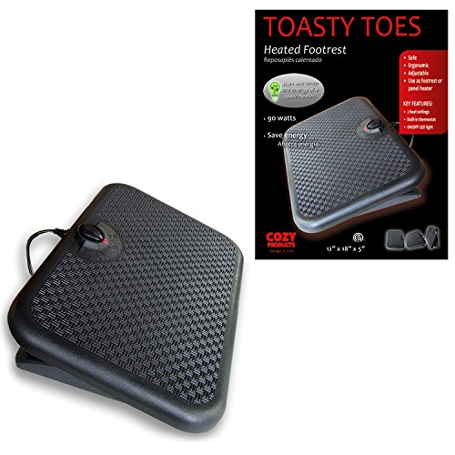 Cozy Products TT Toasty Toes Ergonomic Heated Foot Warmer by Cozy (Image #1)