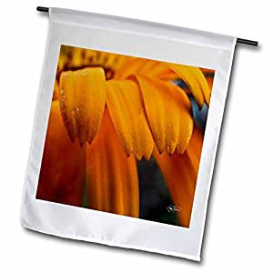 Angel Wings Designs Flowers - Passion for the Yellow Flower in Early Morning III - 18 x 27 inch Garden Flag (fl_49731_2)