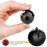Digital Voice Activated Recorder - GolfBall Size Keychain with up to 132 Hours Capacity - 8GB | 32 Hours Battery Life | RecBall by aTTo digital