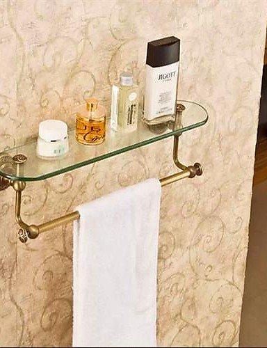 Accessori Per Mensole In Vetro.Bagno Bagno Accessori Rack Bronzo Antico Finitura In Ottone A