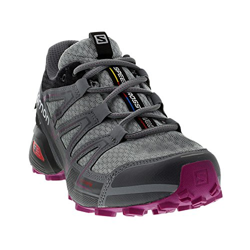 Salomon Para De Running Dalhia Zapatillas L39054600 Black light Trail Gris Mujer Onix Deep w4Xxr4q