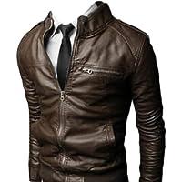 N/A/ Jaqueta de couro adequada para motociclismo, motocicleta, uso externo