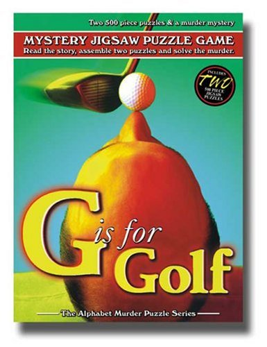 TDC Games Alphabet Mystery Puzzle - G is for Golf ()