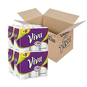 VIVA Choose-A-Sheet Paper Towels RZzudP, 48 Big Plus Rolls
