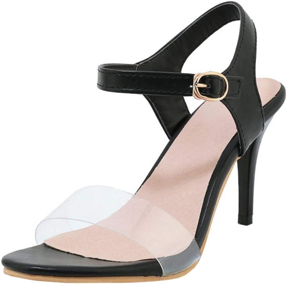 AicciAizzi Women Summer High Heels Sandals Floral