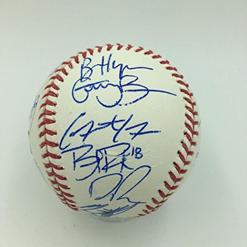 2011 Bryce Harper Pre Rookie All Star Futures Game Team Signed Baseball MLB AUTH - Autographed Baseballs