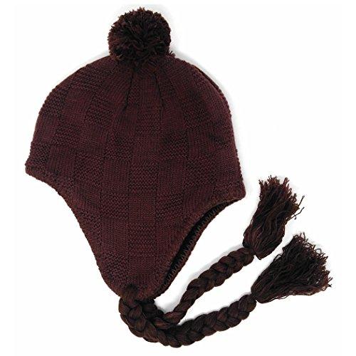 Brown Basket Weave - 8