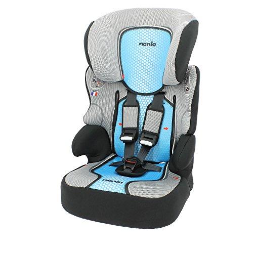 Kindersitz und Sitzerhöhung, 9bis 36kg–100% Französische Herstellung–4 Farben - seitliche Protektoren