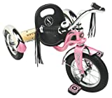 "Schwinn Roadster Tricycle, 12"" wheel size, Trike Kids Bike Pink"