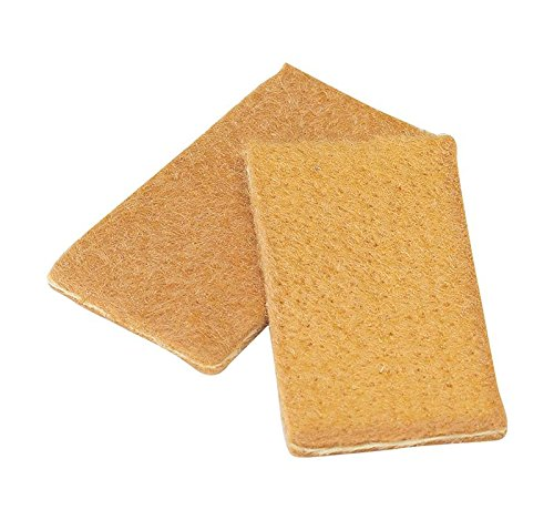 (Walter 54B028 High Conductivity Standard Cleaning Pads - (Pack of 10) 1-51/64 in. X 29/32 in. Foldable, Double Sided Scouring Pads. Welding Pads)