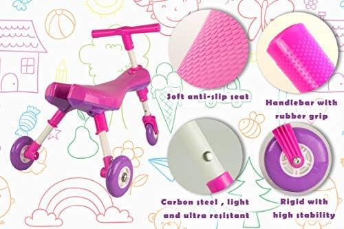 Airel Correpasillos Bebé Plegable   Triciclo Sin Pedales Infantil   De 1 a 3 años, Niños, Rosa, Talla Única: Amazon.es: Deportes y aire libre