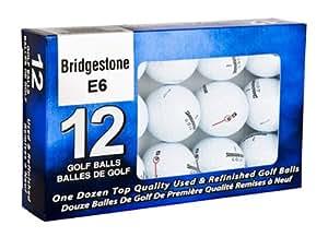 Bridgestone e6 Mint Refinished Official Golf Balls,12-Pack