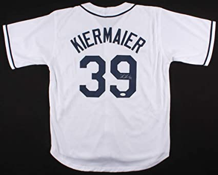 info for ee161 142c9 Kevin Kiermaier Autographed Jersey (Tampa Bay Rays) - JSA ...