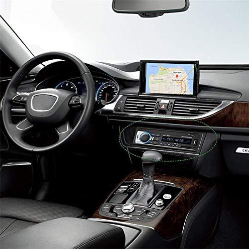51kqSEKt mL - Andven Autoradio Bluetooth, 4×60W Manos Libres Radio Estéreo de Coche, Apoyo d