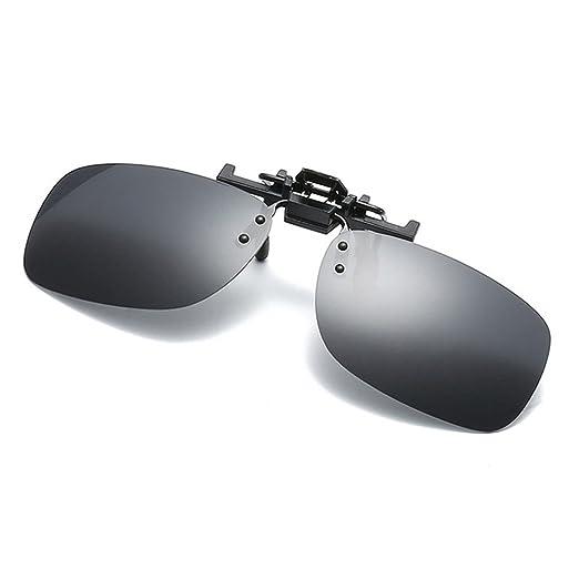 cb34488341 Amazon.com  Polarized Clip-on Sunglasses Driving Fishing(black ...