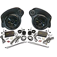 JKU-Pods with Kicker 6.75 Speakers By Select Increments - 07-16 Jeep Wrangler Unlimited Speaker Pods (Includes Speakers)