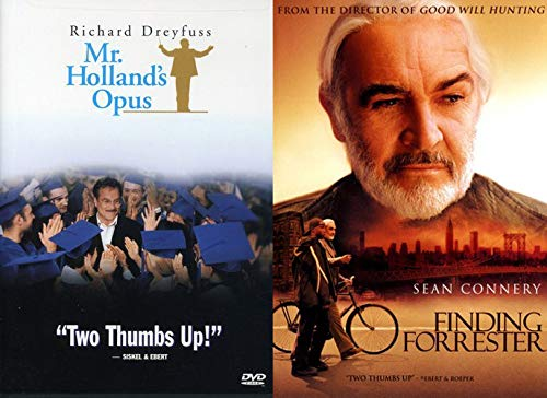 Student Teacher Classics - Mr. Holland's Opus & Finding Forrester 2-DVD Collection (Patch Adams What Dreams May Come)