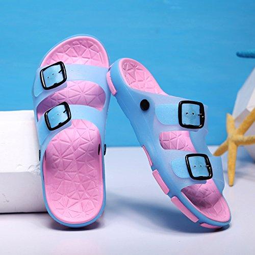 uomini balneare di pantofole spiaggia bagno fresco sandali da estate e 37 e e antiscivolo scarpe uomini la fankou Estate in e località femmina coppie wvPvR1q